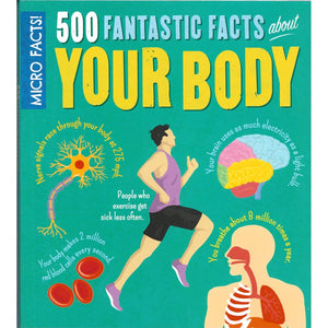 Mircro Facts! 500 Fantastic Facts About Your Body, [Product Type] - Daves Deals