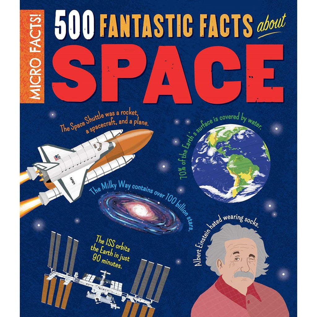 Micro Facts! 500 Fantastic Facts About Space, [Product Type] - Daves Deals
