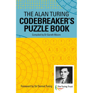 Alan Turing Codebreaker Puzzle Book, [Product Type] - Daves Deals