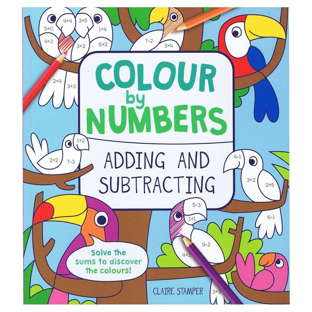 Colour By Numbers Adding and Subtracting - Daves Deals