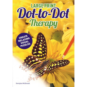 Large Print Dot-to-Dot Therapy, [Product Type] - Daves Deals
