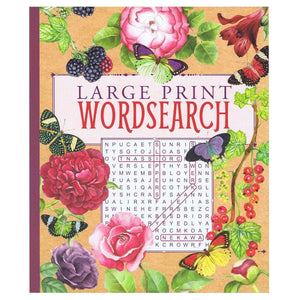 Extra Large Print Wordsearch