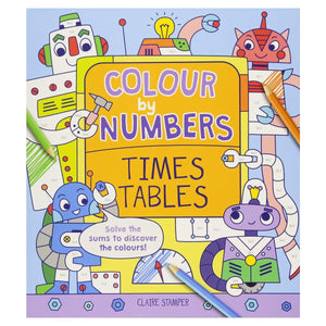 Colour By Numbers Times Tables, [Product Type] - Daves Deals