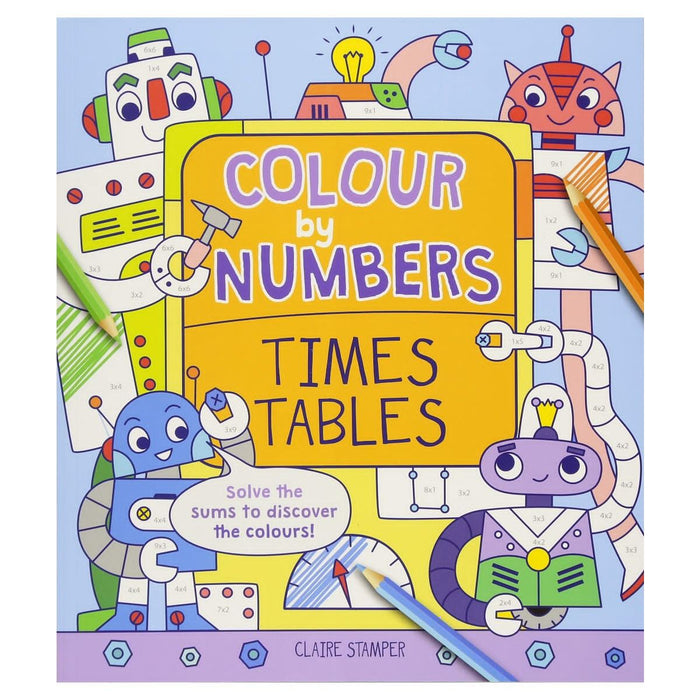 Colour By Numbers Times Tables