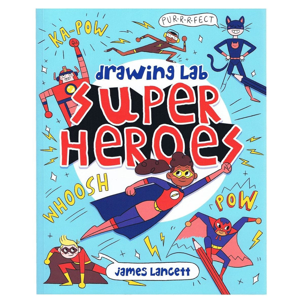 Drawing Lab Super Heroes