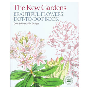 The Kew Gardens Beautiful Flowers Dot-To-Dot Book