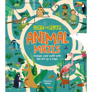 Lift-the-Flap: Animal Mazes: Change Your Path with the Lift of a Flap!, [Product Type] - Daves Deals