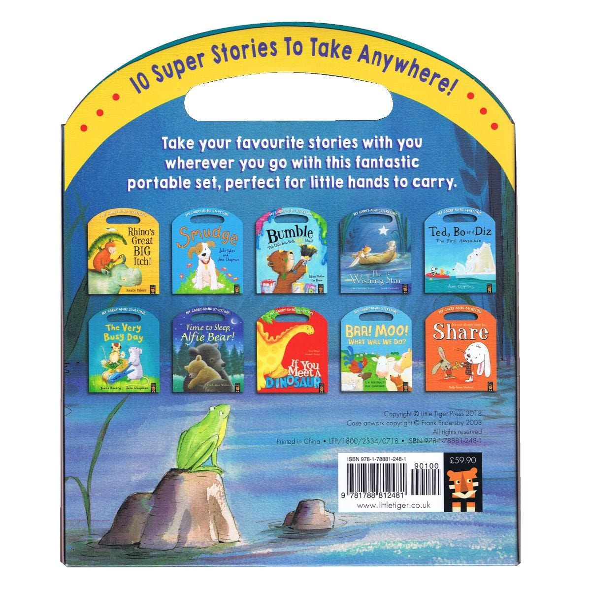Carry Me Along >> My Carry Me Along Stories 10 Book Set Daves Deals