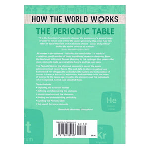 How The World Works Periodic Table, [Product Type] - Daves Deals