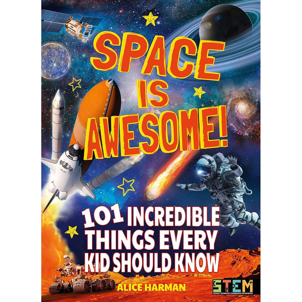 Space Is Awesome: 101 Incredible Things Every Kid Should Know, [Product Type] - Daves Deals