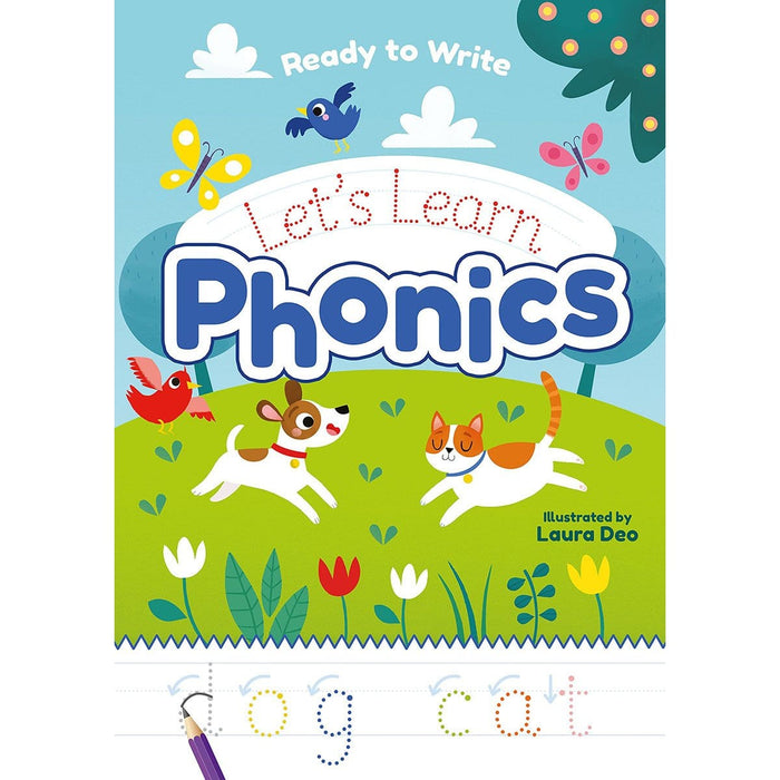 Ready to Write: Let's Trace Phonics