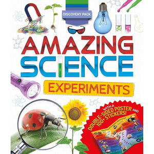 Discovery Pack: Amazing Science Experiments, [Product Type] - Daves Deals