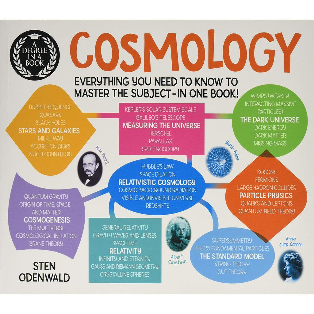 A Degree in a Book: Cosmology: Everything You Need to Know to Master the Subject - in One Book! - Daves Deals