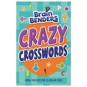 Brain Benders Crazy Crosswords, [Product Type] - Daves Deals