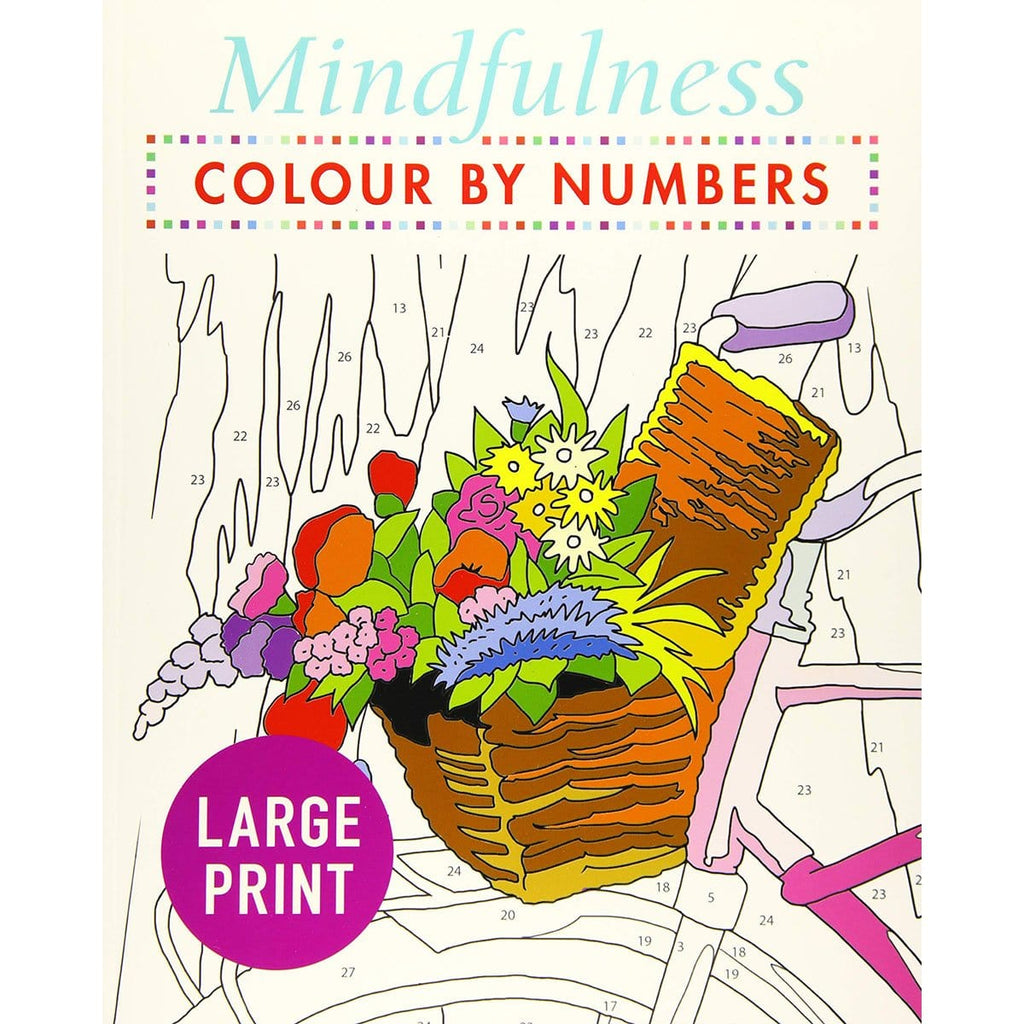 Mindfulness Colour-by-Numbers Large Print, [Product Type] - Daves Deals