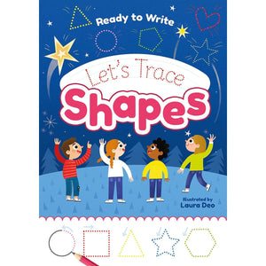 Ready to Write: Let's Trace Shapes, [Product Type] - Daves Deals