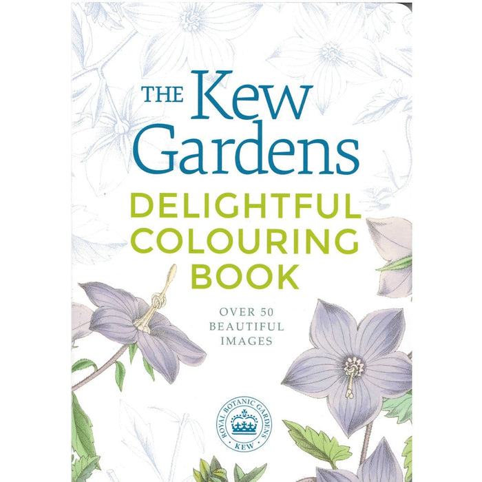 The Kew Gardens Delightful Colouring Book