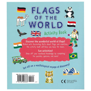 Flags of the World Activity Book - Daves Deals