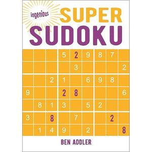 Ingenious Puzzles: Super Sudoku, [Product Type] - Daves Deals