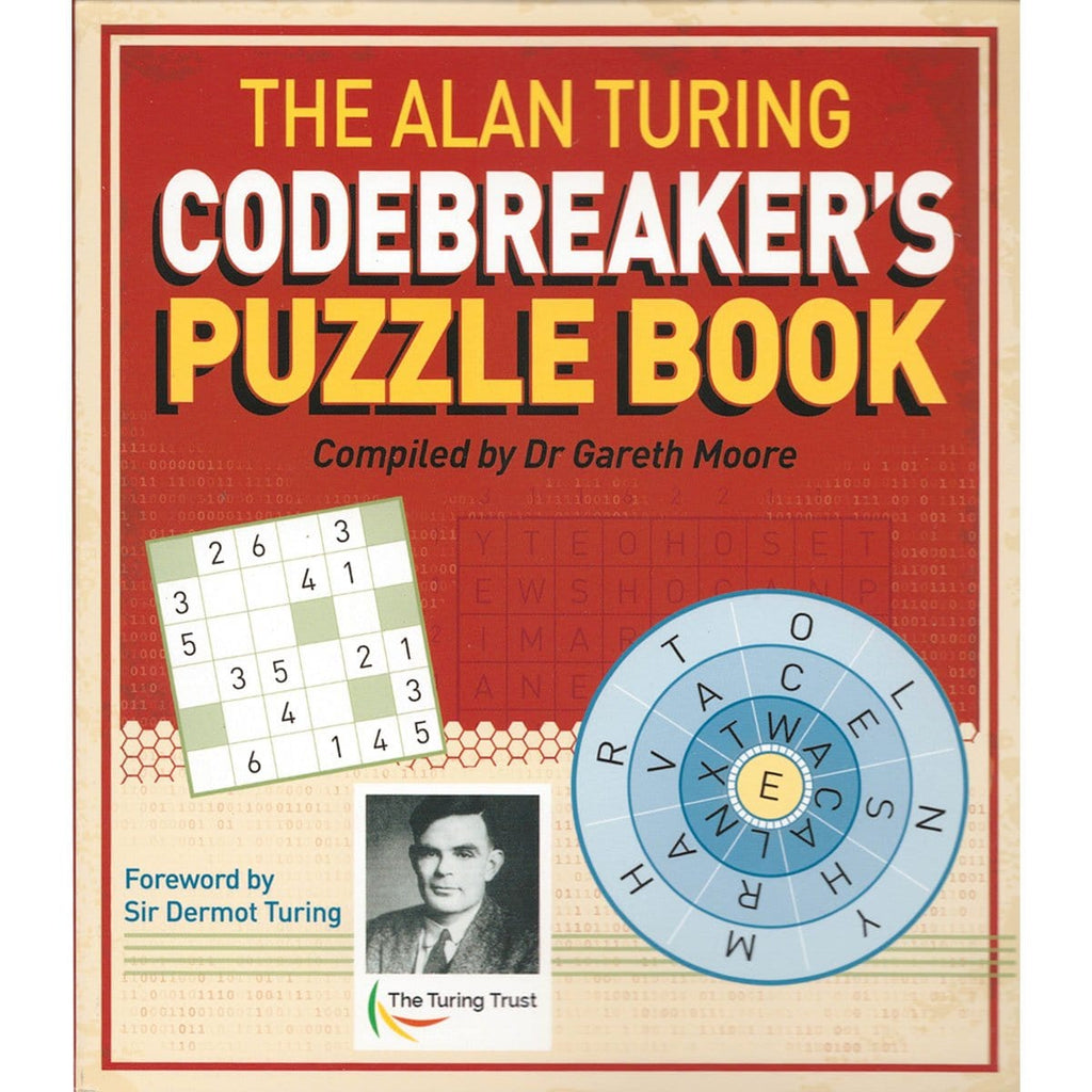 The Alan Turing Codebreaker's Puzzle Book, [Product Type] - Daves Deals
