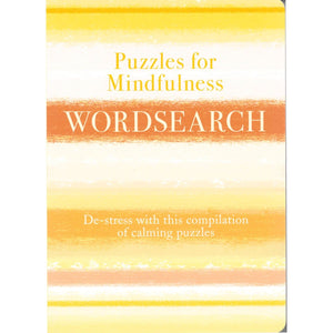 Puzzles for Mindfulness: Wordsearch, [Product Type] - Daves Deals