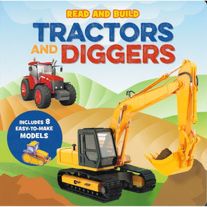 Read & Build - Tractors & Diggers