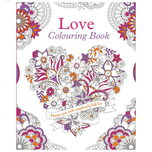 Love Colouring Book