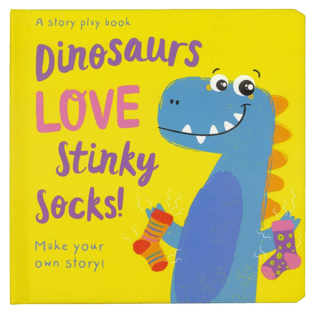 Dinosaurs LOVE Stinky Socks!