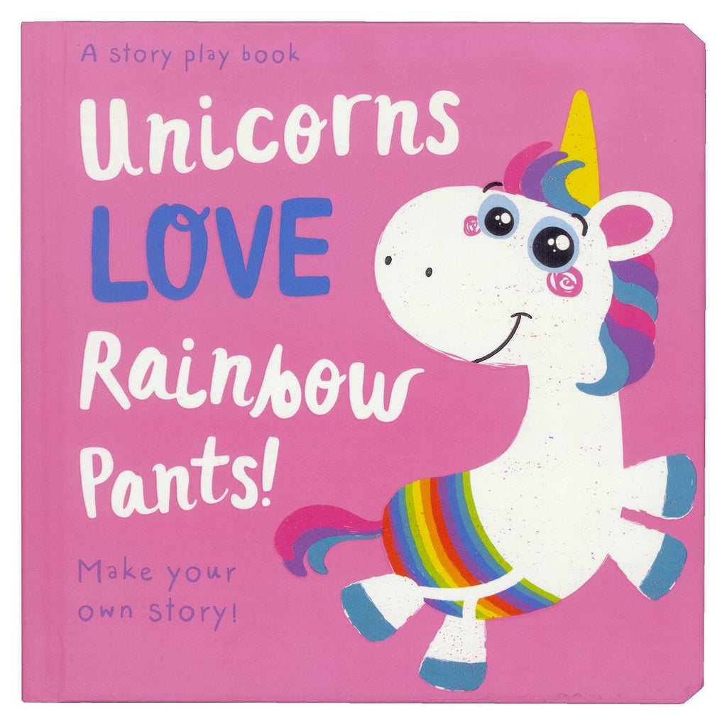 Unicorns LOVE Rainbow Pants!