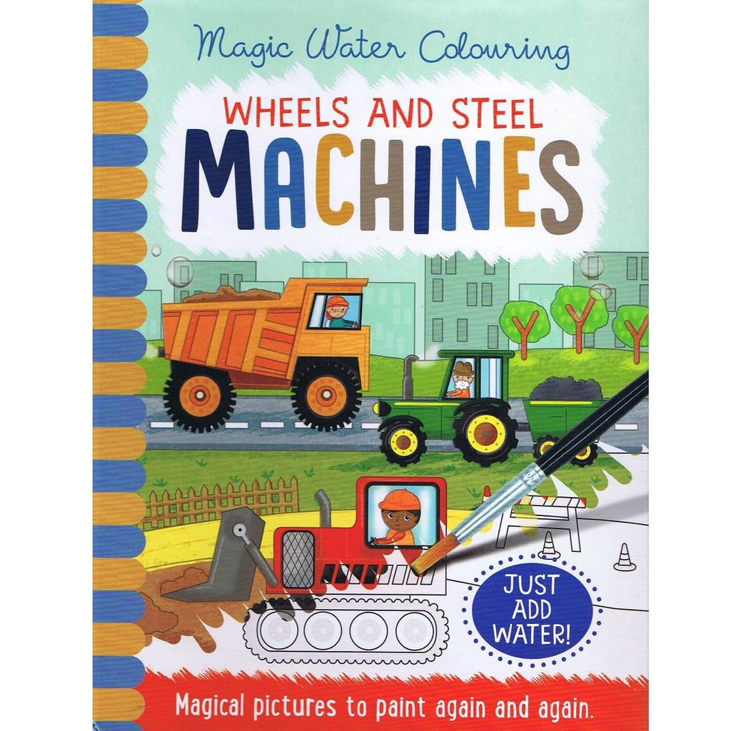 Magic Water Colouring Wheels & Steel Machines