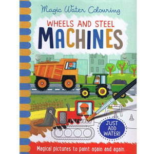 Magic Water Colouring Wheels & Steel Machines - Daves Deals