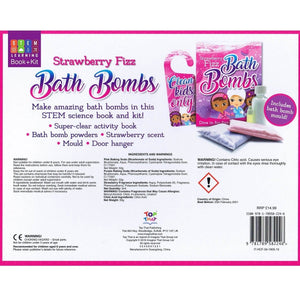 Strawberry Fizz Bath Bombs - Activity Station Book + Kit
