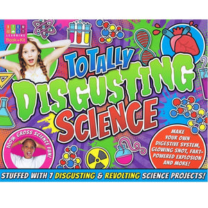 Totally Disgusting Science - Activity Station Book + Kit