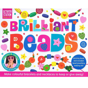Brilliant Beads - Activity Station Book + Kit, [Product Type] - Daves Deals