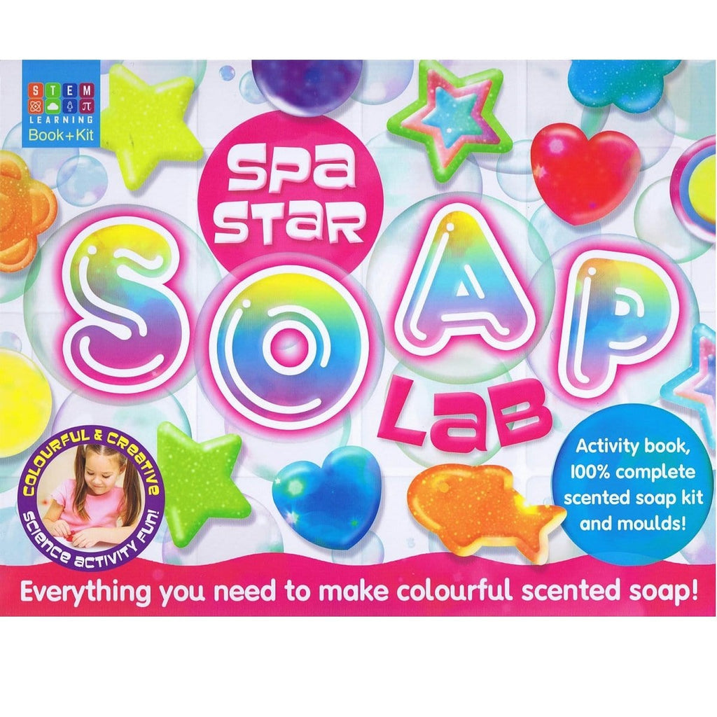Spa Star Soap Lab - Activity Station Book + Kit, [Product Type] - Daves Deals