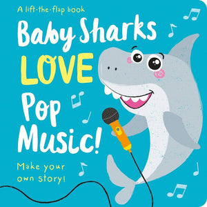 Baby Sharks Love Pop Music, [Product Type] - Daves Deals