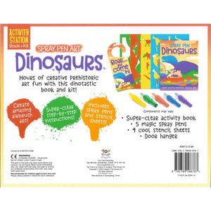 Dinosaurs Spray Pen Art, [Product Type] - Daves Deals