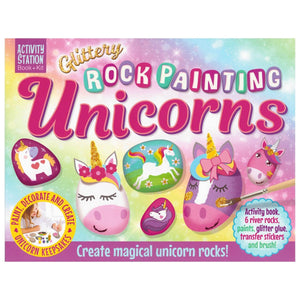 Glittery Rock Painting Unicorns, [Product Type] - Daves Deals