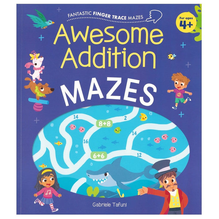 Awesome Addition Mazes