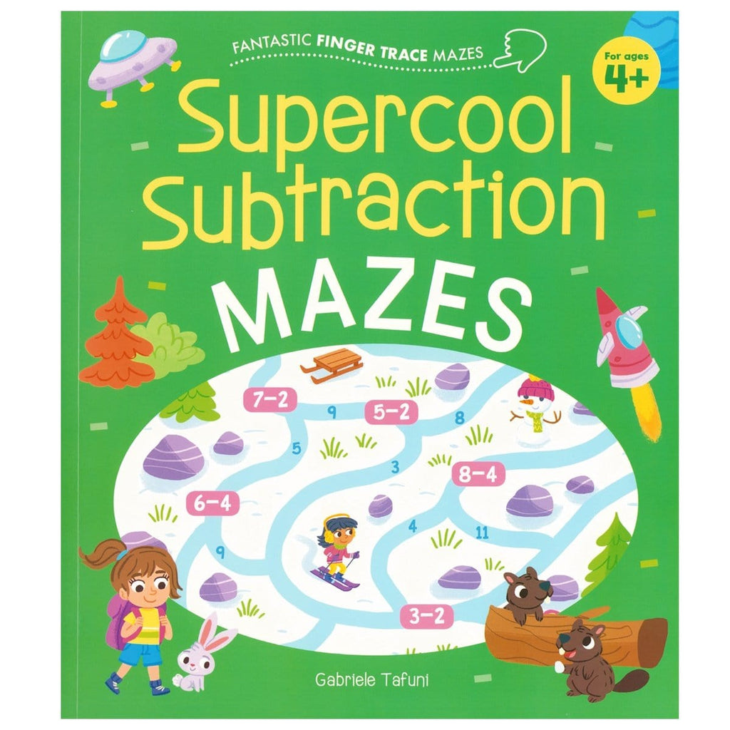 Supercool Subtraction Mazes, [Product Type] - Daves Deals