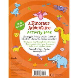 A Dinosaur Adventure Activity Book, [Product Type] - Daves Deals