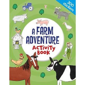 A Farm Adventure Activity Book, [Product Type] - Daves Deals