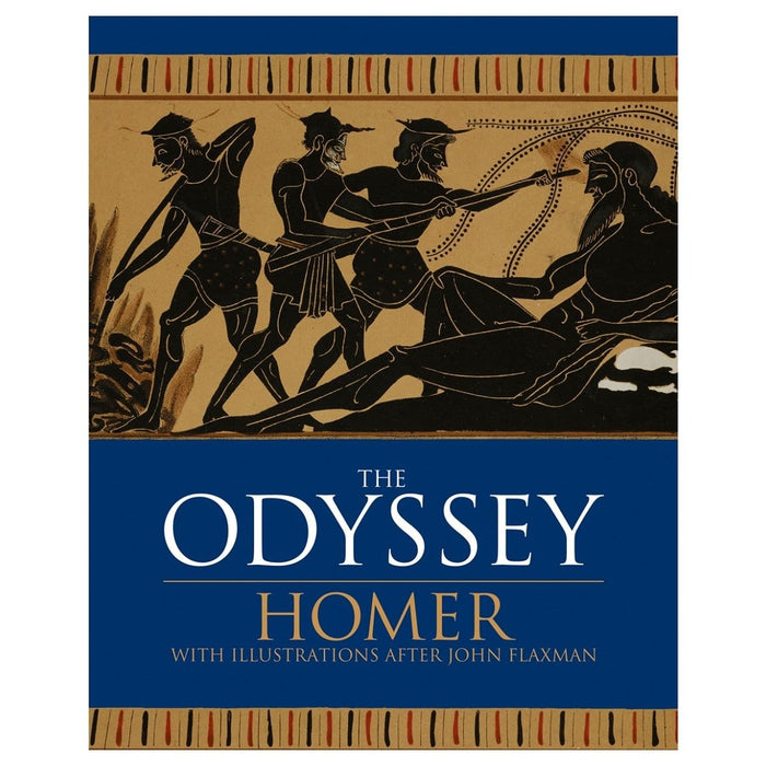 The Odyssey - With Illustrations After John Flaxman