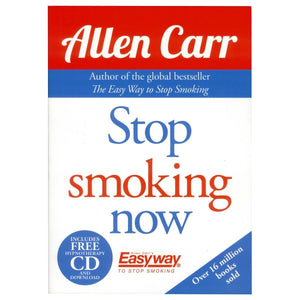 Stop Smoking Now Book & CD