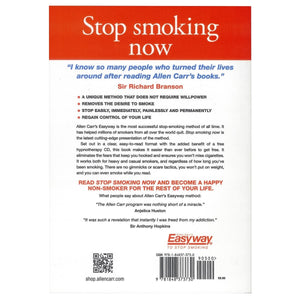 Stop Smoking Now Book & CD, [Product Type] - Daves Deals