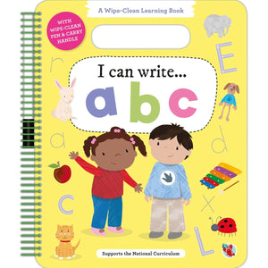 Wipe Clean Learning: I Can Write ABC, [Product Type] - Daves Deals