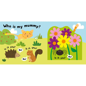 Lift-the-flap & peek-through - Who's My Mummy, [Product Type] - Daves Deals