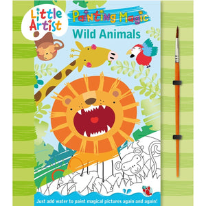 Little Artists - Paint Magic - Wild Animals - Daves Deals