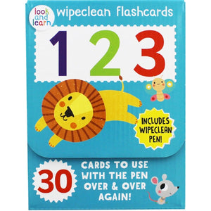 Wipeclean flashcards 123, [Product Type] - Daves Deals