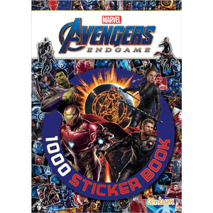 Avengers : 1000 Sticker Book, [Product Type] - Daves Deals